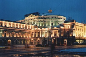 The Mariinsky Theatre (the former Kirov Theatre)