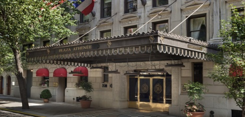 Plaza Athenee Hotel New York