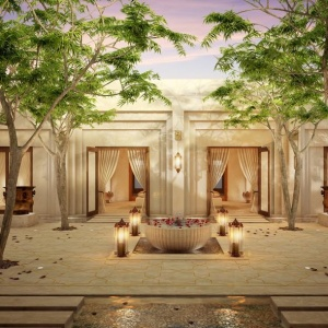 Новый курорт Jumeirah Al Wathbah Desert Resort & Spa в  пустыне Абу-Даби